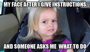 My Face Meme - annoyed face funny meme my face after i give instructions and