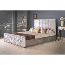 solid wood 3ft 4ft6 walnut colour bed frame beds pinterest