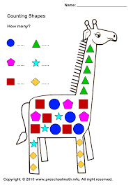shape activities for preschoolers shapes worksheets for for