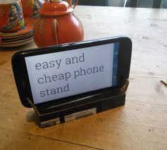 Homemade Phone Stand by Free And Easy Cardboard Phone Stand 4 Steps