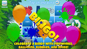 bingo for kids android apps on google play