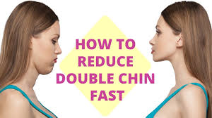 how to make a double chin look less noticable eith hair how to get rid of a double chin 5 easy steps to follow youtube