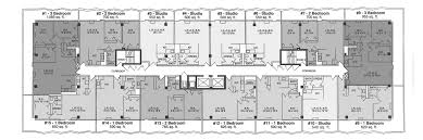 Studio Apartment Floor Plan by Apartments At Huron Towers