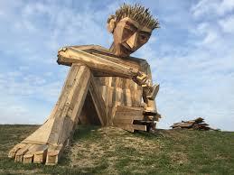 scrap wood sculpture scrap wood inhabitat green design innovation architecture