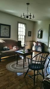 country colonial primitive family room homes cabins and porches
