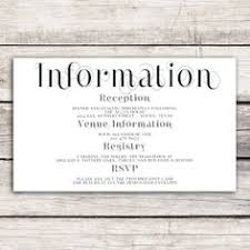 wedding card for what to put on your info card destination weddings destinations