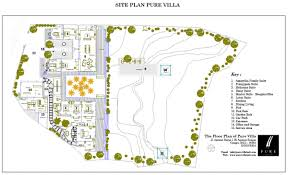 Villa Floor Plan by Floor Plan Pure Villa Bali
