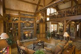 log homes interiors log home living