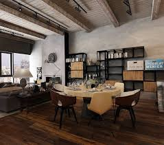industrial interiors home decor industrial style homes magnificent decoration