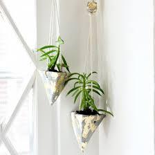 diy hanging cement planters craftgawker