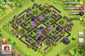 Home Design Game Levels Clash Of Clans Base Designs Town Hall Level 9 1337 Wiki