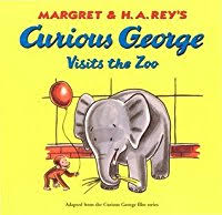 curious george visits zoo margret rey