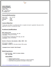 Mba Fresher Resume Sample by Professional Curriculum Vitae Resume Template For All Job