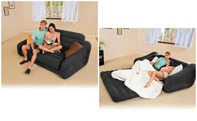 inflatable sofa pull out mattress sleeper loveseat air bed gaming