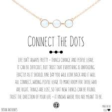 connect the dots dainty necklace bryan anthonys