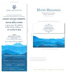 mountain wedding invitations colorado wedding invitations on 100 recycled paper