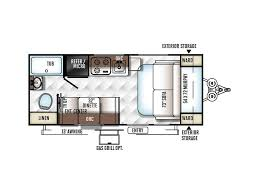 Aliner Floor Plans by 2018 Forest River Rockwood Geo Pro G19fd Decatur Al Rvtrader Com