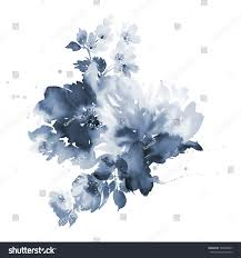 Flowers For Wedding Bouquet Spring Delicate Watercolor Flowers Wedding Stock