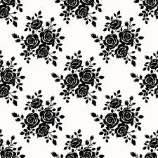 black roses seamless patterns vector graphics seamless patterns
