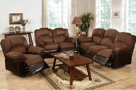 chocolate microfiber leather reclining sofa loveseat motion couch