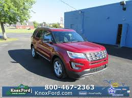 Ford Explorer Lifted - new 2017 ford explorer radcliff knox ford near elizabethtown