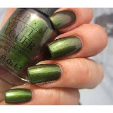 opi nail lacquer green on the runway opi from tailormade nails uk
