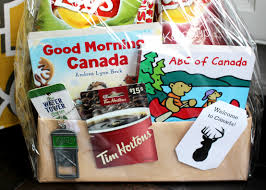 canadian gift baskets canadian welcome basket