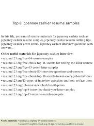 cashier resume template jcpenney cashier resume top 8 cashier resume sles in this file