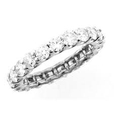 wedding bands white gold 18 karat white gold diamond wedding band wb0420 eternity bands