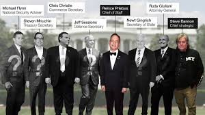 Us Cabinet Agencies Trump U0027s Presidential Cabinet Takes Shape Bbc News