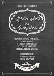 chalkboard wedding invitations chalkboard wedding invitation free printable wedding invitations