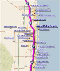 i 95 west palm traffic maps and road conditions