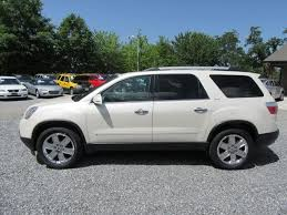 2010 for sale 2010 gmc acadia slt 2 for sale in asheville