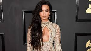 demi lovato talks wearing a see through dress at the grammys