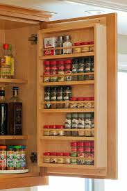 Kitchen Cabinet Door Spice Rack 20 Spice Rack Ideas For Both Roomy And Cred Kitchen Pantry