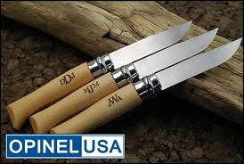 opinel personalized knives