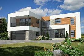 Modern Hous Plan 80828pm 4 Bed Modern House Plan With Master Deck Modern
