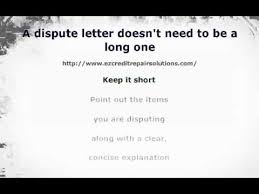 Format Of Dispute Letter tips on writing a dispute letter to a collection agency