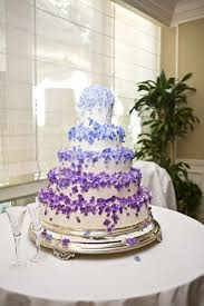 purple and blue wedding purple and blue wedding cakes blomwedding
