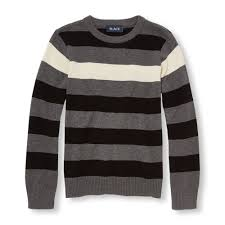 boys sleeve striped sweater the children s place