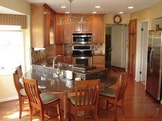 Kitchen Island With Attached Table Kitchen Kewamee Kitchen - Kitchen island with attached table