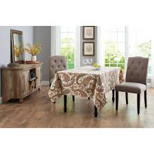 better homes and garden painterly paisley tablecloth 60