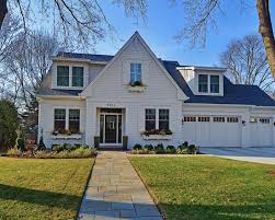 modern cape cod style homes home curbside landscaping ideas transitional exterior modern cape