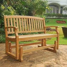 teak glider bench with cushion option sam u0027s club