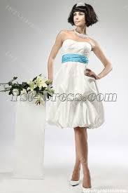 civil wedding dress satin civil wedding dresses with blue waistband 1st dress