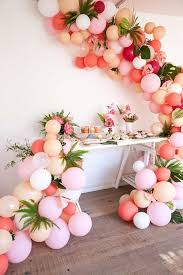 50th birthday flowers and balloons 63 best wedding trend balloon installations images on