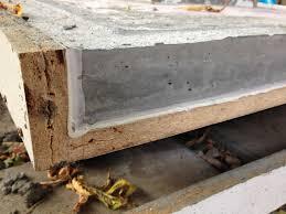 diy concrete dining table perfect concrete dining room table on dining room update concrete