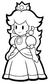 super mario coloring pages super paper mario coloring pages