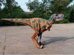 velociraptor costume dinosaur costume animatronic dinosaur factory from china