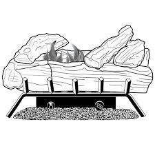 Desa Ventless Fireplace - cld3018nta desa vent free fireplace